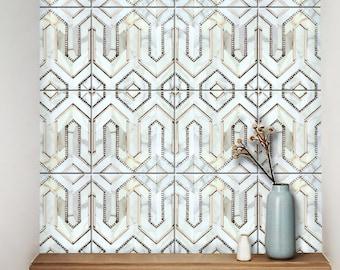 Bristol Küche Badezimmer Backsplash Fliesen Wand Treppenboden Möbel Vinyl  Aufkleber, Abnehmbare Peel Stick Aufkleber Für