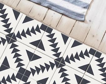 Stockholm Grey Peel and Stick tile stickers for Floor, Kitchen, Bathroom, Backsplash, Fireplace - Removable and Waterproof | Renter friendly