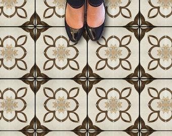 Encaustic Marokkanischen Fliesen Wand Treppe Boden Selbstklebende Vinyl  Aufkleber, Küche Badezimmer Backsplash Carrelage Decal,
