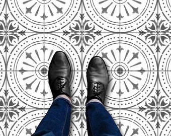 Naples Tile Wall Stair Floor Self Adhesive Vinyl Stickers,Kitchen Bathroom Backsplash Carrelage Decal, Peel & Stick Home Decor