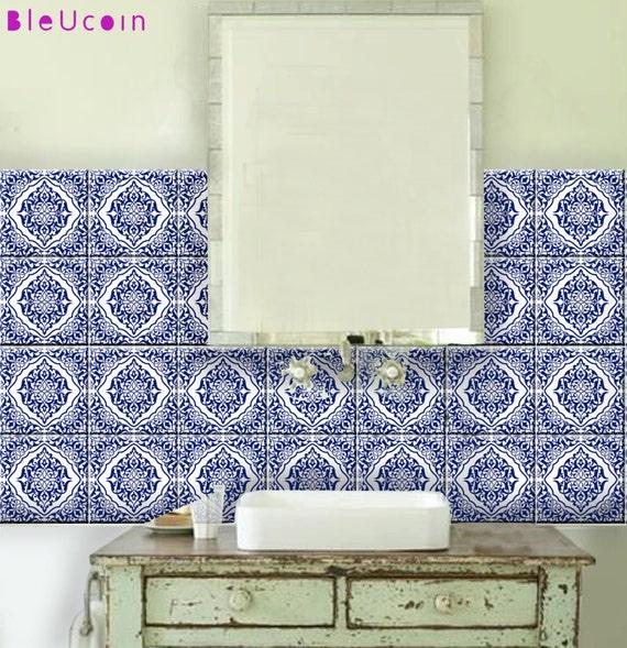 Küche / Bad Marokkanischen Fliesen / Wand / Treppe Abziehbild | Etsy