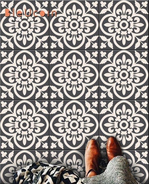 Encaustic Moroccan Tile Wall Stair Floor Self Adhesive