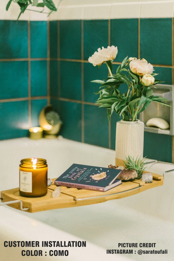 plain solid tile stickers kitchen bathroom wall tile vinyl | etsy