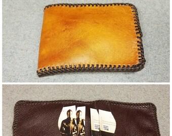 Centurian Style Leather 5 Pocket Billfold Plain