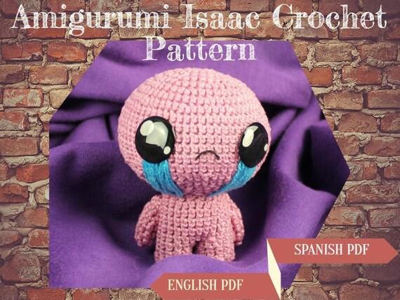 Isaac Crochet Pattern Amigurumi Isaac Pattern Isaac Plushie Etsy