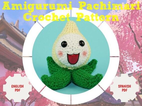 Pachimari Crochet Pattern Amigurumi Pachimari Pattern Etsy