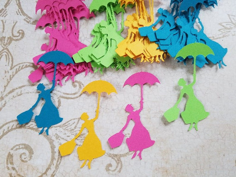 Mary Poppins Party Decorations Embellishments Al 8 Etsy