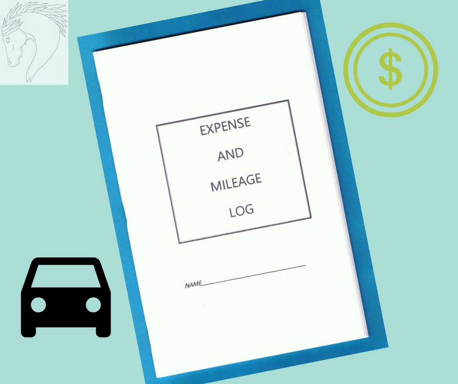 Expense and Mileage Log booklet, Equine Journal System