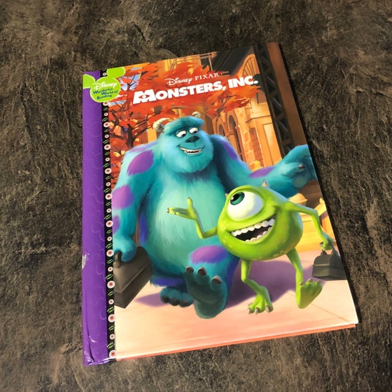 Monsters Inc Repurposed Storybook Etsy