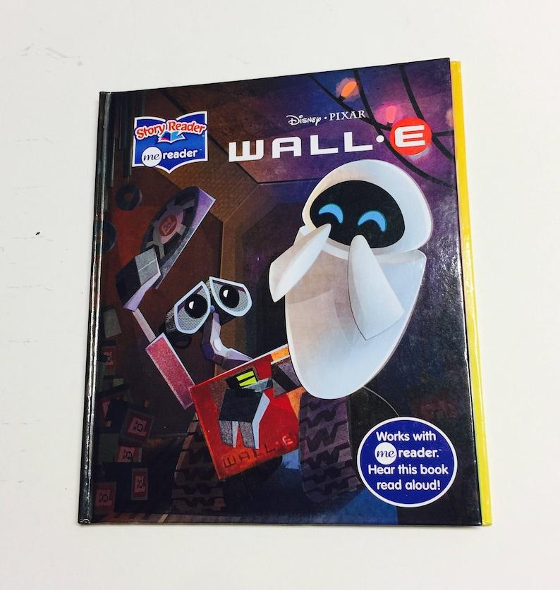 Disney Pixar Wall E Repurposed Book Planner/Sketchbook/Journal/Autograph  Book/Notebook