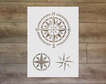 Compass Stencil