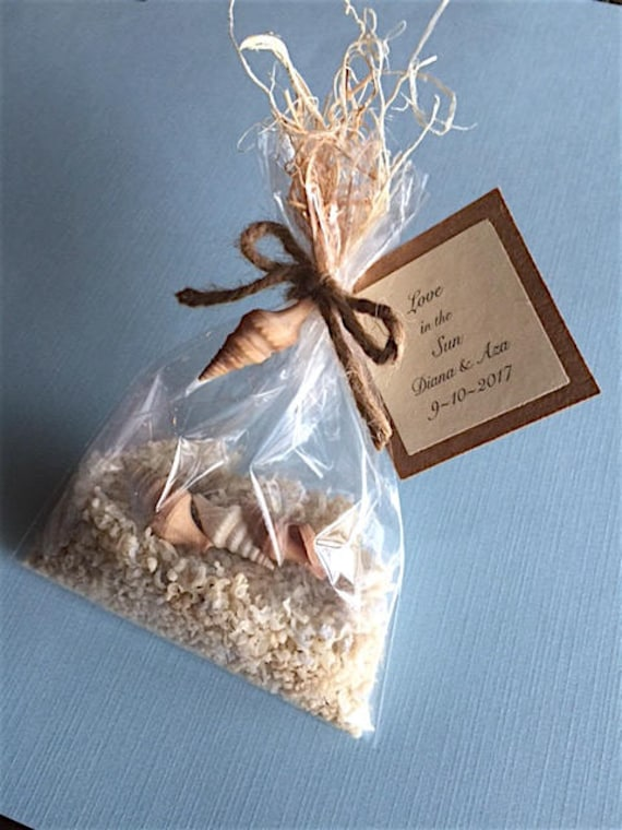 10 Wedding Favors Soap Sand Bridal Shower Favors Beach Etsy