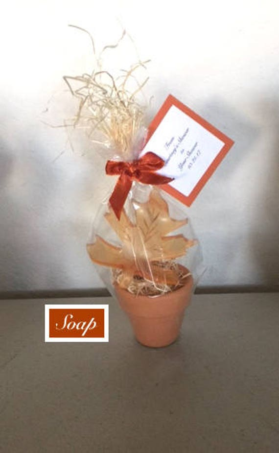 Fall Wedding Favors For Guests Scented Leaf Soap Baby Shower Etsy