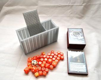 Translucent Black Deck Box (for 75 Single-Sleeved Cards)