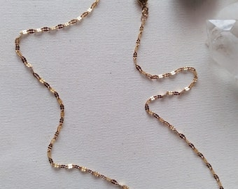 Bellatrix Chain Link Necklace, Layering, Neck Stack, Neck Mess, Paperclip