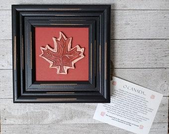 Maple Leaf - Ceramic Art Tile © 2004. All rights reserved.