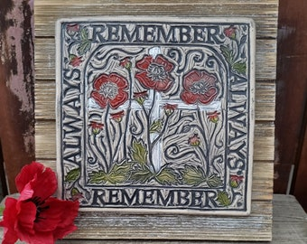 Remember Always Ceramic Art Tile © 2007. All Rights Reserved.