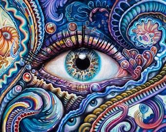 Visionary art | Etsy