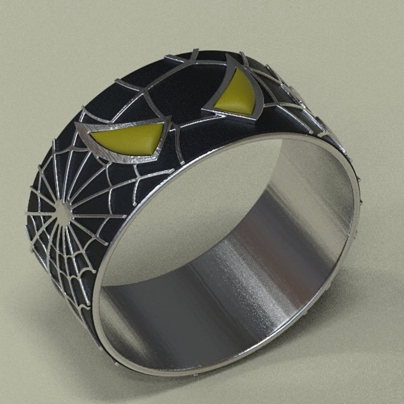 Spiderman Wedding Band