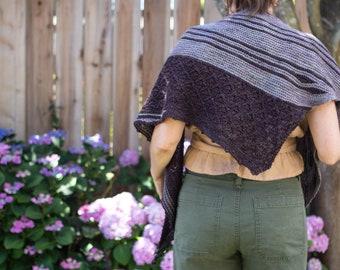 Lichen shawl | PDF pattern
