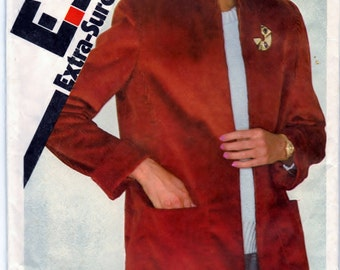 Simplicity 9619 Pattern Sewing Craft Misses Unlined Jacket