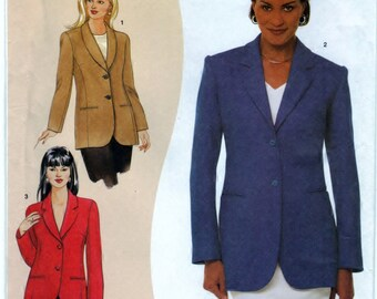 Simplicity 9668 Pattern Sewing Craft Misses Jacket