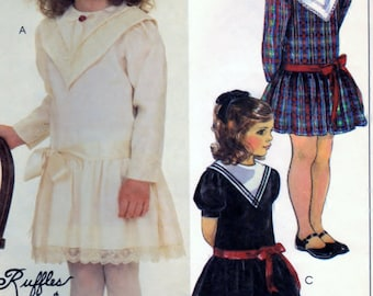 McCalls 9261 Sewing Supply Pattern Childrens And Girls Dress