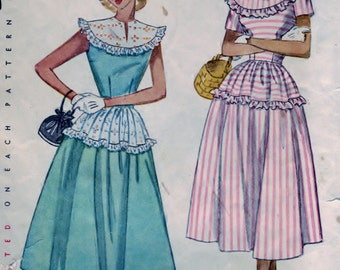 One-Piece Dress Pattern - Size 14 Bust 32 - CUT Simplicity 2498