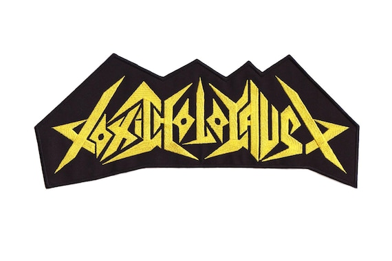 Overkill Embroidered Back Patch big thrash metal patch