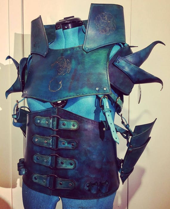 Dragon Leather Armor Complete Set Reenactment Larp Made On Etsy Dragon age inquisition wip inquisitor armor 3 by sksprops on deviantart. dragon leather armor complete set reenactment larp made on order