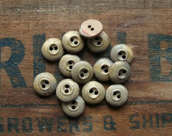 Medium Swirl Ceramic Button Set