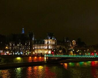 Christmas Night in Paris