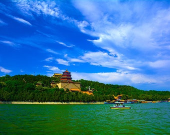 Summer Palace in Spring