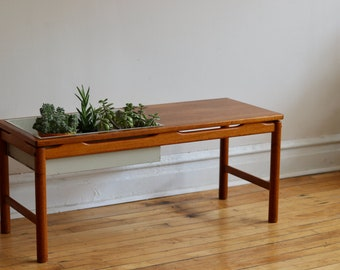 Mid Century Modern Coffee Table Etsy - Cheap mid century coffee table