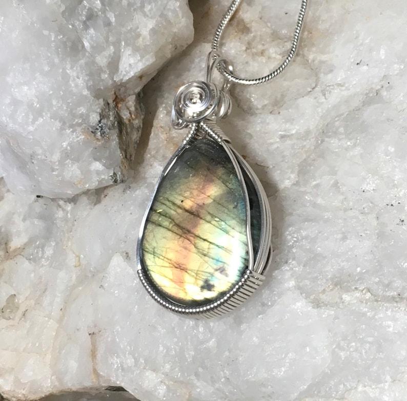 Spectrolite Handmade Necklace