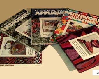 Better Homes & Gardens - 5 vintage needle work books