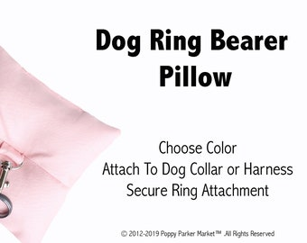 Dog Ring Bearer Ring Pillow Only - Choose Color