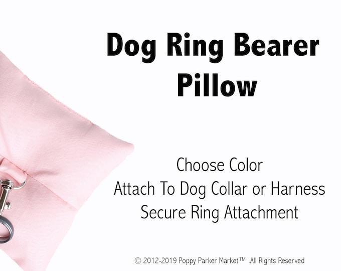 Dog Ring Bearer Ring Pillow Only - Choose Color