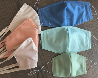 Summer Family Variety Face Mask, Multiple Sizes, Reversible, Soft Cotton