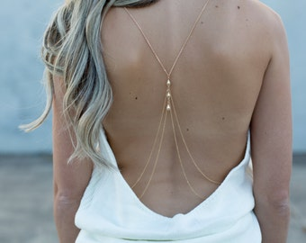 fa6444e5baf67 Beau - Handmade Body Chain in Silver or Gold