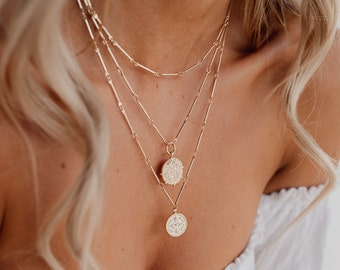 b2e43197896e1 Layered necklace | Etsy