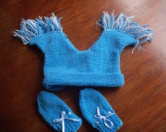 Baby Hat and Mittens