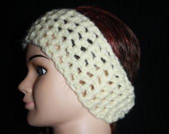 simple white headband