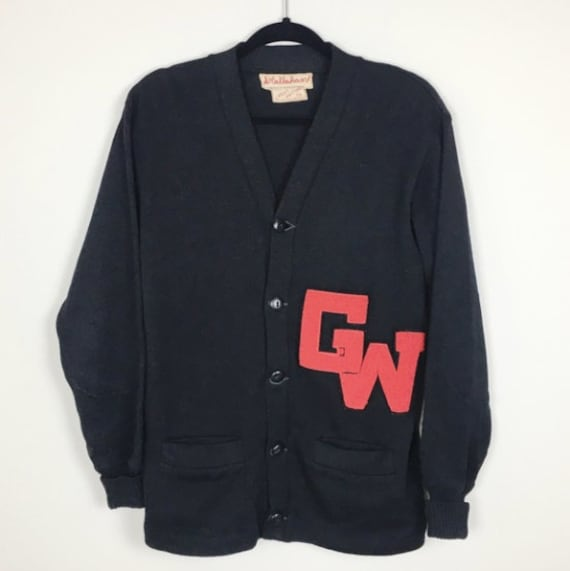 Vintage 1950's Varsity Letterman Sweater