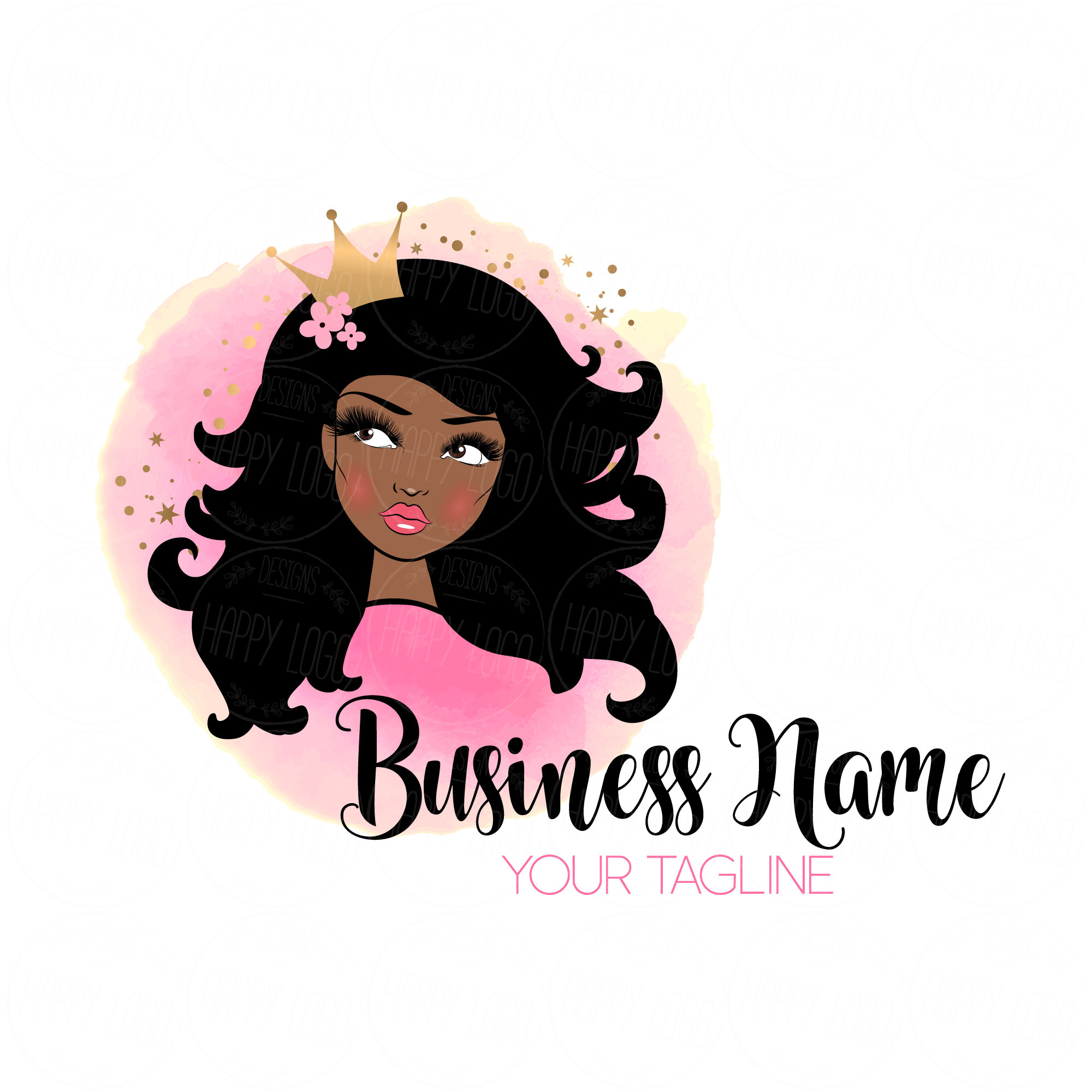 Create a logo for a luxury Hair and Makeup Studio | Logo ... |Hair And Makeup Logo
