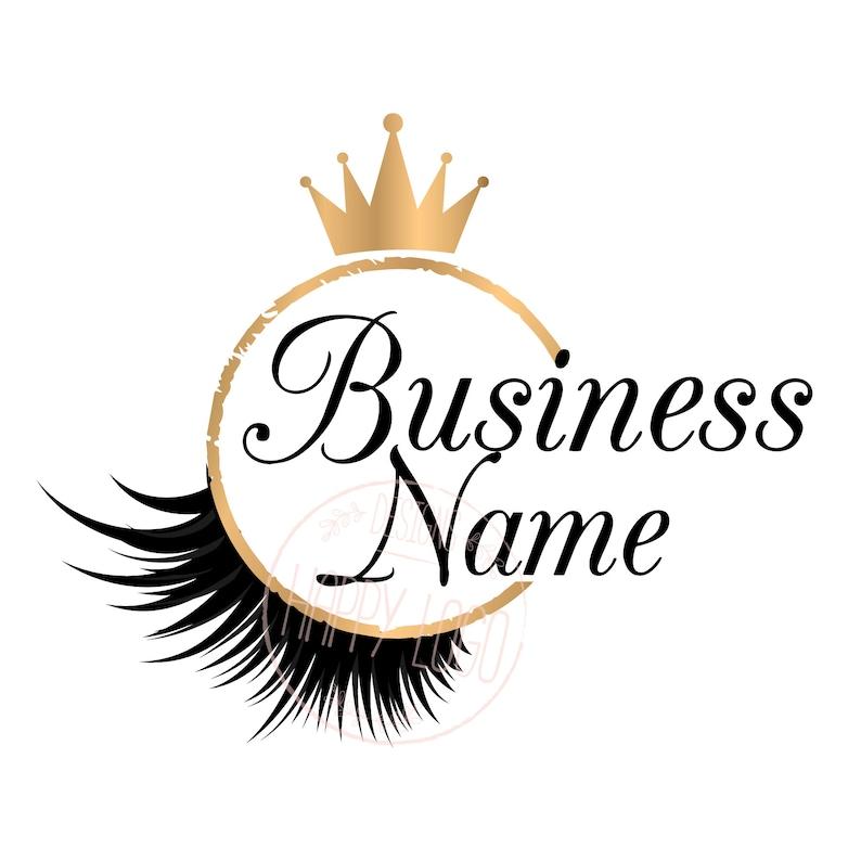 Lashes Logo Name