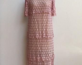 Pink Tier Dress