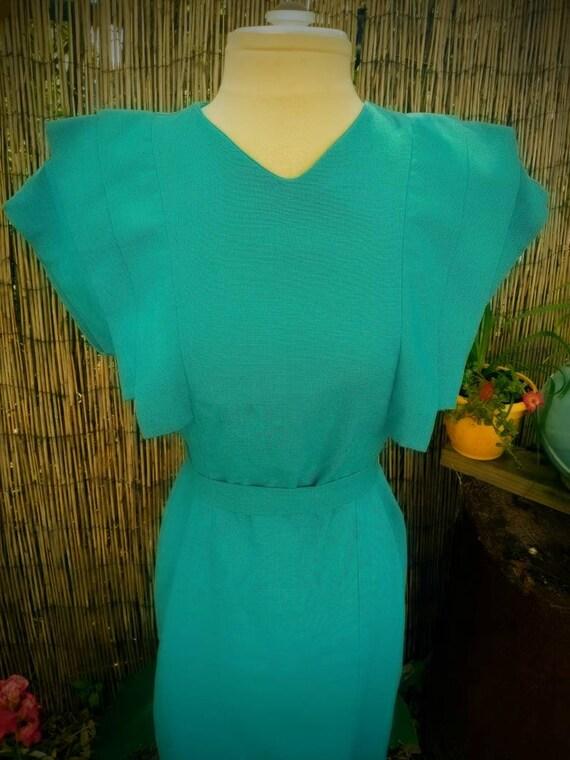 Vintage Lanvin dress 1980's Rockabilly - image 3