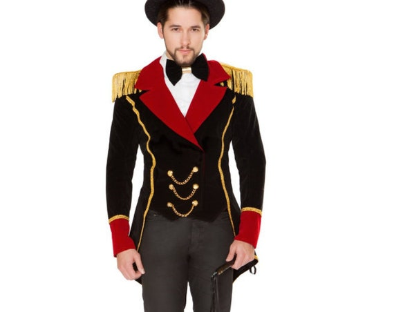 Roma Mens 3pc Ringmaster Circus Costume 4820