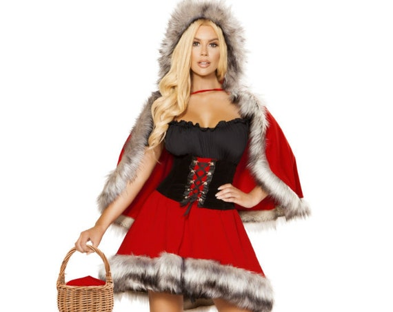 Roma Costume 4854 - 3PC The Red Chapped Diva